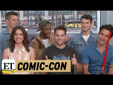 Comic Con 2017: LIVE with 'Teen Wolf' Cast