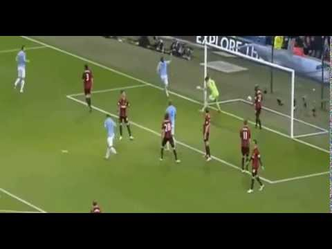 Martin Demichelis Goal  Manchester City 3-1 West Bromwich  Albidon 21-04-2014