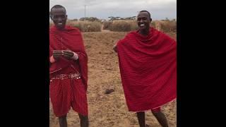 UWAGA Film 18+: Masajska niebieska tabletka - Kenia - Afryka