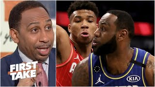 Stephen A. loves the Kobe-inspired changes to the NBA All-Star Game format | First Take