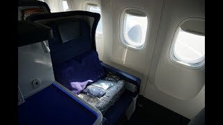 《 ANA ビジネスクラス NH110 ニューヨーク行き 搭乗記@2019.01.01》Xperiaで簡単ハイライトムービー