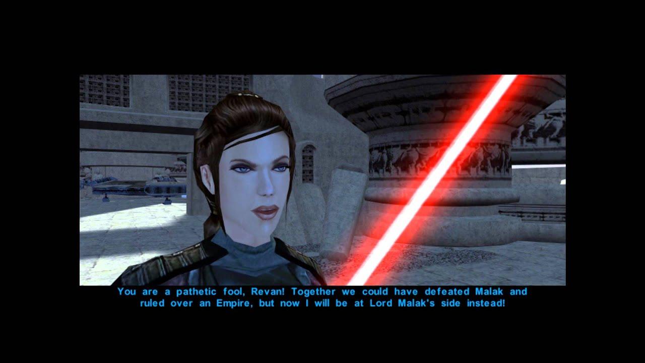 Star Wars Knights Of The Old Republic: Revan Vs. Bastila ...