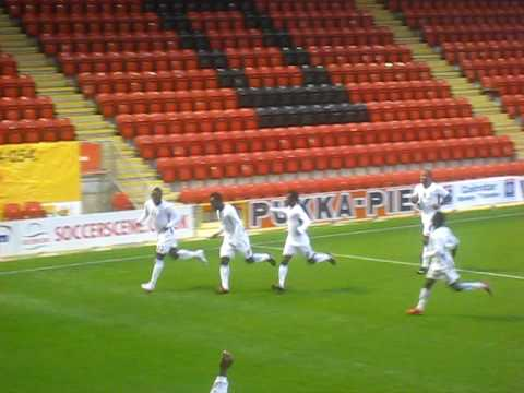 Ghana 4-1 Zambia Sulley Muntari Goal