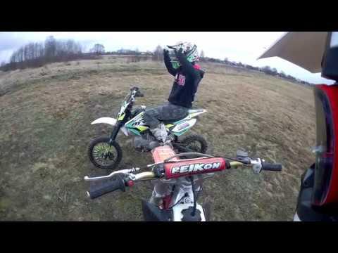 Motovlog Z Enduro Klypak !! Zabawa I Wheelie Na Mrf 140RC ❤ ❤  Plany Na Tor Motocrossowy.