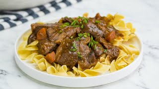 Short-Rib Beef Bourguignon // Presented by LG USA