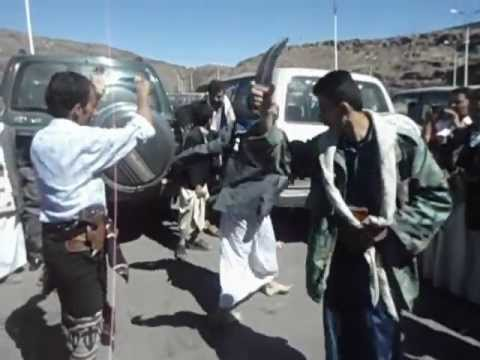 Yemen mizmar dance شباب العود اب