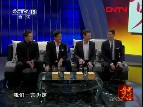 Il Divo Singing Chinese Song jasmine Flower(茉莉花) On Cctv-15 life Of Music With Sun Xiaomei video