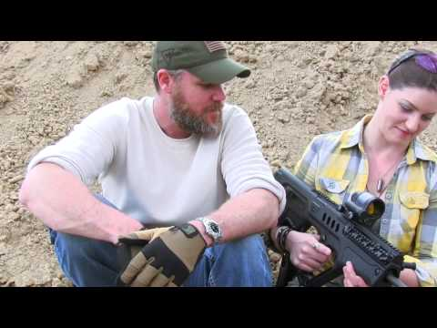 Military Arms Channel. TAVOR TAR-21 & FateofDestinee @ 2A Shoot