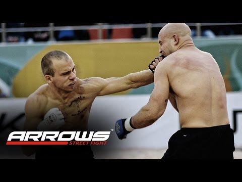 "ARROWS street fight  Barber vs teacher ""BEST FIGHT"" / Парикмахер vs Педагога"