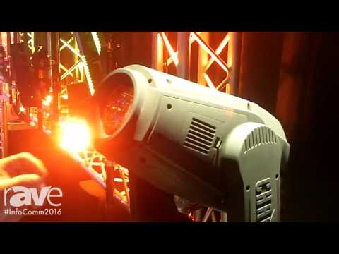 InfoComm 2016: Chauvet Professional Introduces the Maverick MK2 Spot
