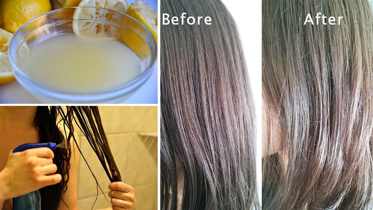 HENNA HAIR DYE  Tutorial on dark brown natural hair