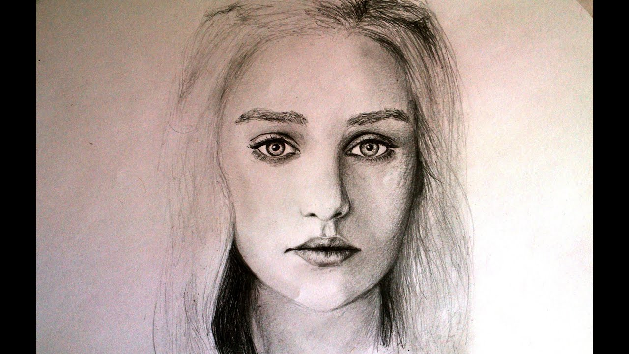 Game of Thrones Daenerys Drawing Drawing of Game of Thrones