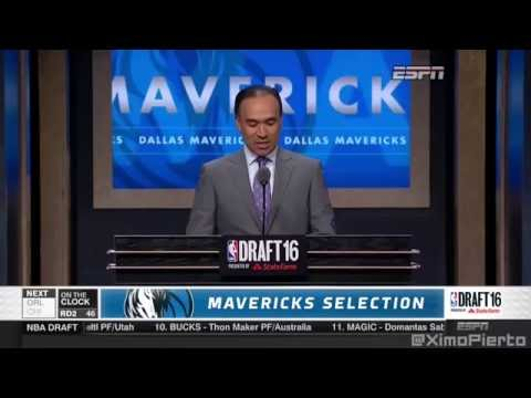 2016 NBA Draft   #46 Pick׃ A J  Hammons   Dallas Mavericks