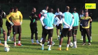 CAN 2015 | Séance d'entraînement des Lions du Sénégal à El Jadida