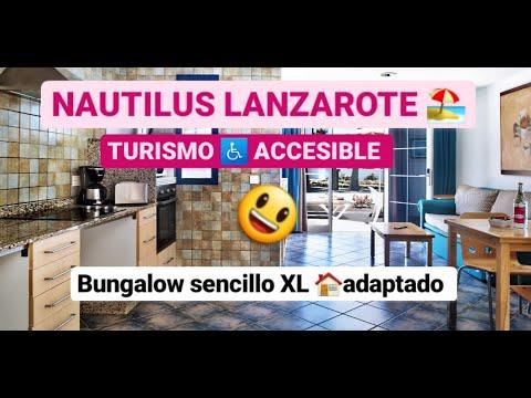 Apartamento sencillo XL adaptado en Nautilus Lanzarote by Equalitas Vitae