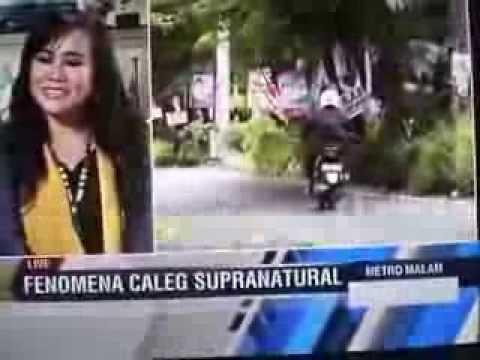 Endang Tarot @Metro Malam: Fenomena Caleg & Supranatural (Metro TV 9 Maret 2014) Bag.1