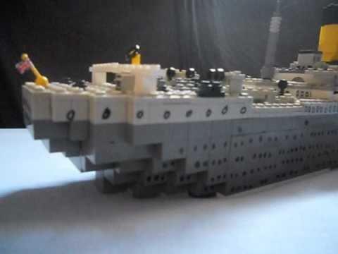 The Lego Titanic sinking movie (MUSIC)