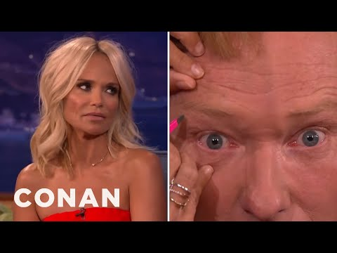 Kristin Chenoweth Manscapes Conan's Brow  - CONAN on TBS