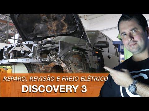 Dr CARRO Reparos Discovery 3 - Pegou fogo. correia e freio de mão elétrico