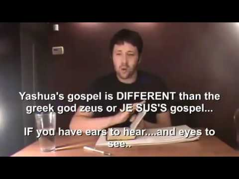 Caucasian Explaining The descendants Of Jacob.