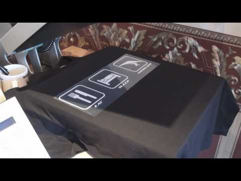 T Shirt Printing Business Workshop Tutorial Easy Work From Home Start Up video