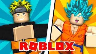 NARUTO vs GOKU! - Roblox (Anime Tycoon)