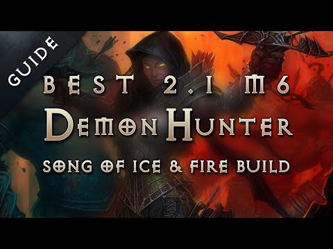 Best 2.1 Demon Hunter Build & Gear: Song of Ice & Fire Marauder - Diablo 3 Reaper of Souls Guide