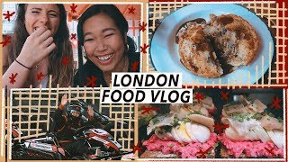 Living in London: Cheap Eats Food Tour | London Vlog