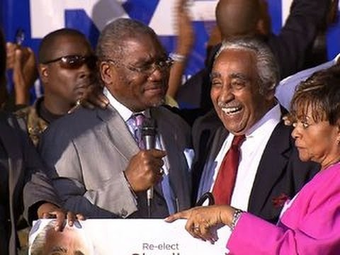 Rangel declares victory in hotly contested primary