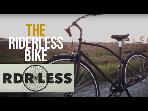 First there was the Driverless Car, Now there is a Riderless Bike | This is That | CBC