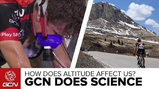 How Does Altitude Affect Cycling Performance? GCN Does Science