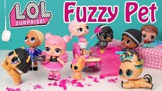 🐰🐶🐦LOL Surprise Doll Fuzzy Pets Motion Video 🐱🐰🐶