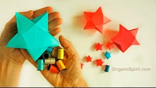 折り紙でラッキースター☆星の折り方・作り方22選