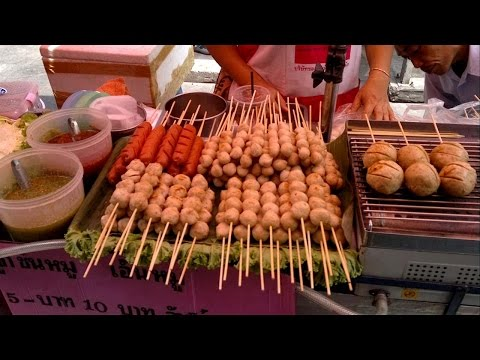 Thai Street Food Bangkok Central Food Stalls