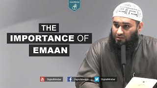 The importance of Emaan – Yousaf Jahangir