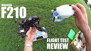 WALKERA F210 FPV Race Drone Review - Part 2 - [Flight Test]