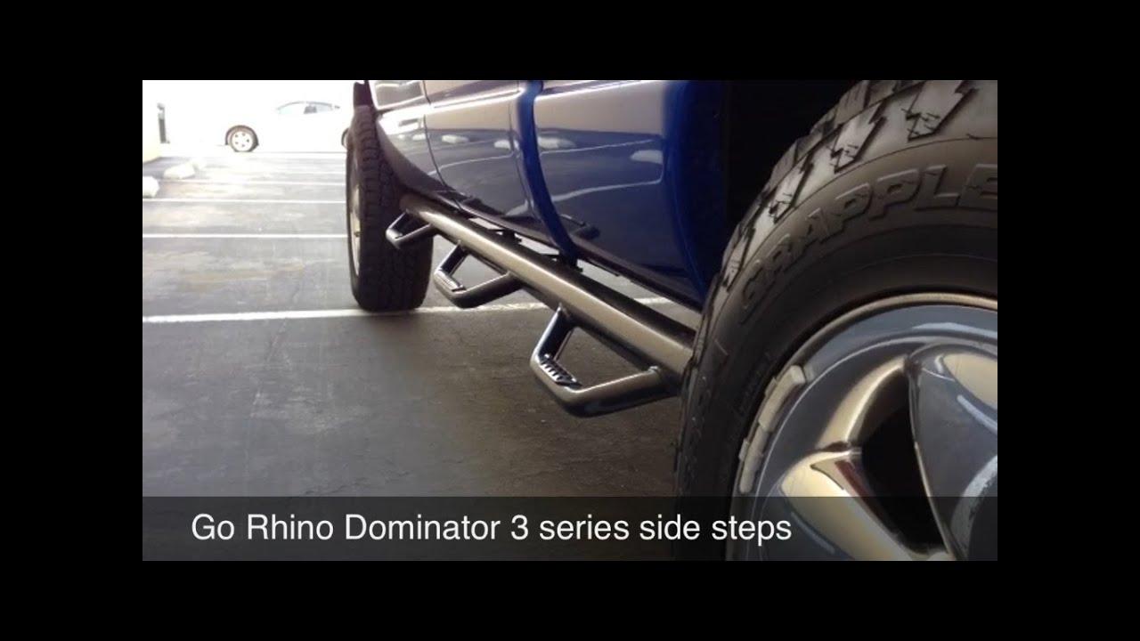 Dodge Ram Go Rhino Dominator 3 Side Step Review Youtube