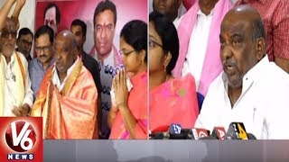 MLA Jogu Ramanna Express Happiness For Appointing KTR As TRS Working President | Adilabad