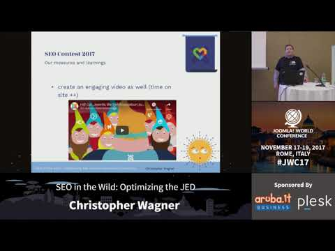 SEO in the Wild: Optimizing the JED - Christopher Wagner
