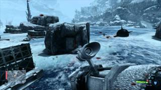 Crysis Warhead on MSI GTX 580 Twin Frozr II - Max Settings ICE LEVEL