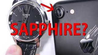 Apple 'Sapphire' iPhone Lens - Whats it made of?