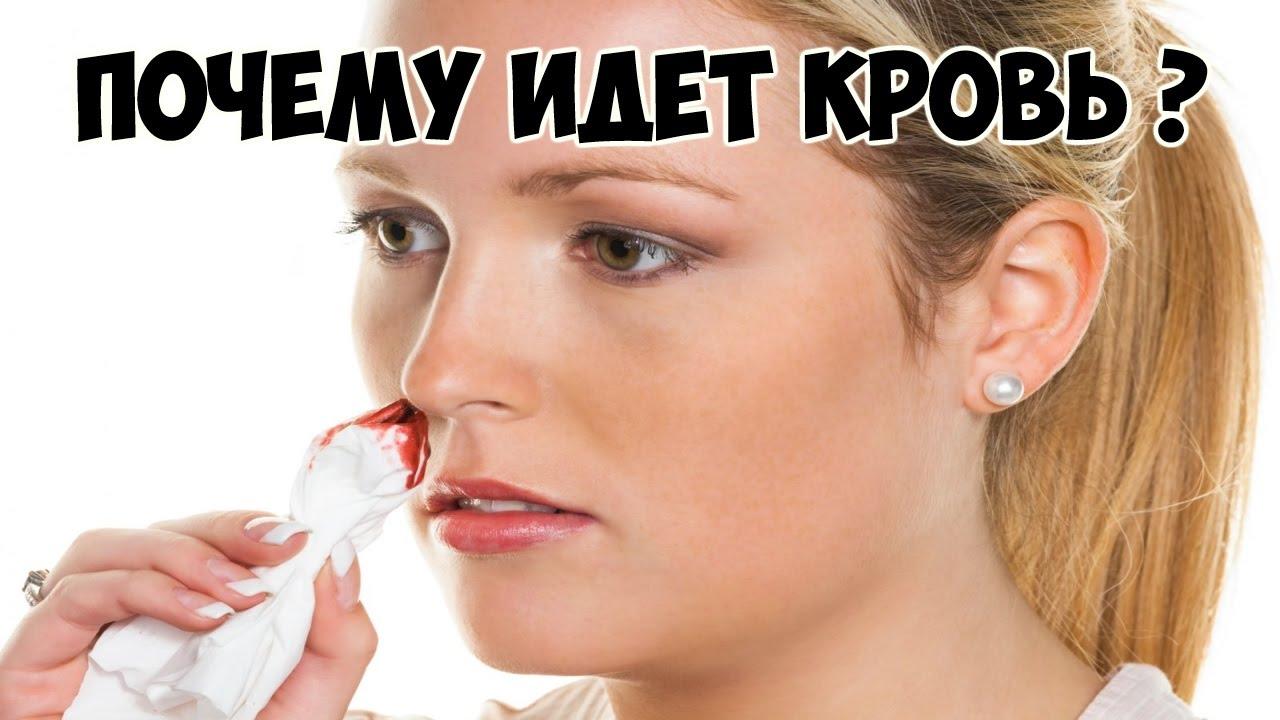 Почему из носа идет кровь периодически