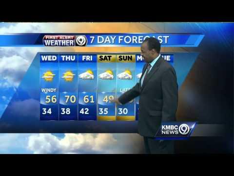 Rain, snow showers possible Tuesday night