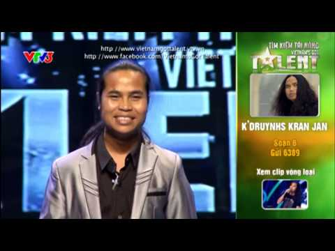Vietnam's Got Talent 2012 - Bán Kết 2 - K'Druynhs Kran Jan - MS:6