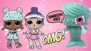 Unboxing LOL Surprise Under Wraps Eye Spy Series Blind Bags! LOL Dolls Series 4! Jelly Layer!