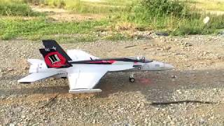 RC plane jet flights