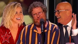 FANTASTIC Comedian Makes Judges Laugh With Workout Jokes! | Got Talent Global