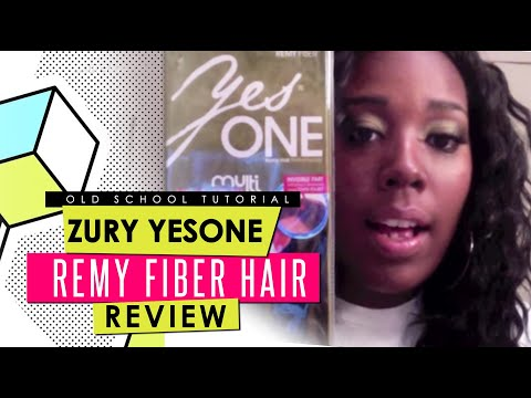 Zury YesOne Multi Length Remy Fiber Hair  and Invisible Part Closure Review