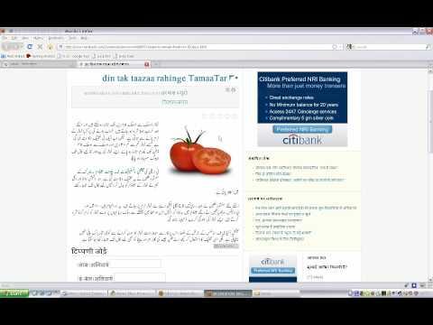 Hindi to Egnlish and Urdu Transliteration