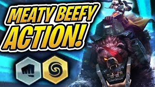 How To Win /w Brawlers! - 2x Sejuani Meaty Beef Team | Teamfight Tactics | TFT | LoL Auto Chess